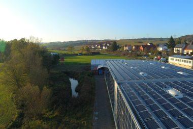 Solaranlage von Müller Kunststofferzeugnisse